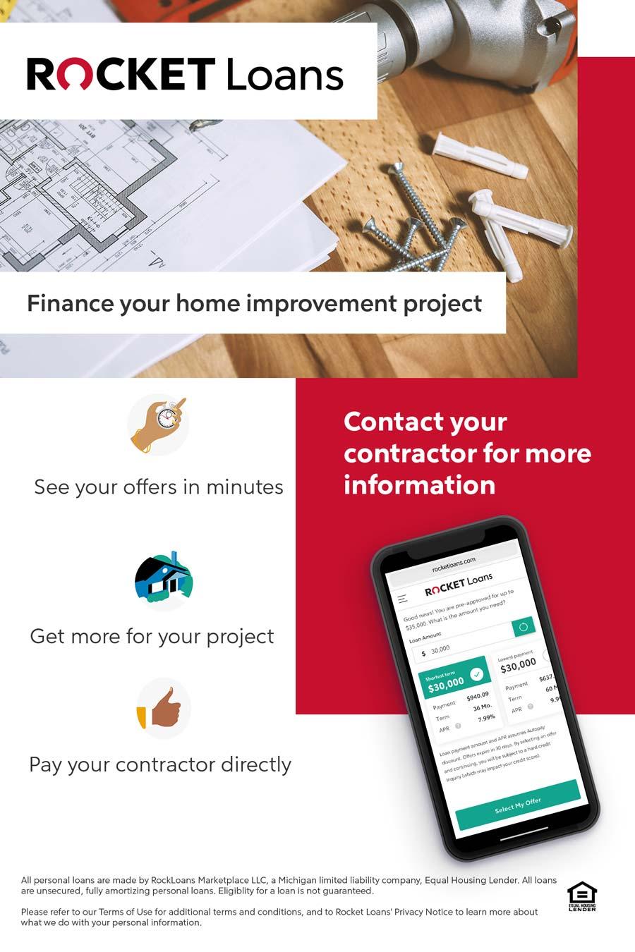 Contractor Financing Flyer